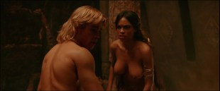 Rosario Dawson nude topless and hot sex in - Alexander (2004) hd1080p