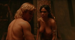 Rosario Dawson nude topless and hot sex in - Alexander (2004) hd1080p (10)