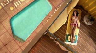 Jessica Marais nude topless in -Magic City s1e7 hd720p