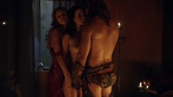 Ellen Hollman and Gwendoline Taylor full frontal nude in - Spartacus (2003) s3e3 hd1720p (12)