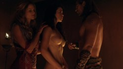Ellen Hollman and Gwendoline Taylor full frontal nude in - Spartacus (2003) s3e3 hd1720p (1)