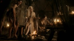 Emilia Clarke nude sex doggy style and lesbian love game with Roxanne McKee - Game of Thrones S1E2 hd1080p