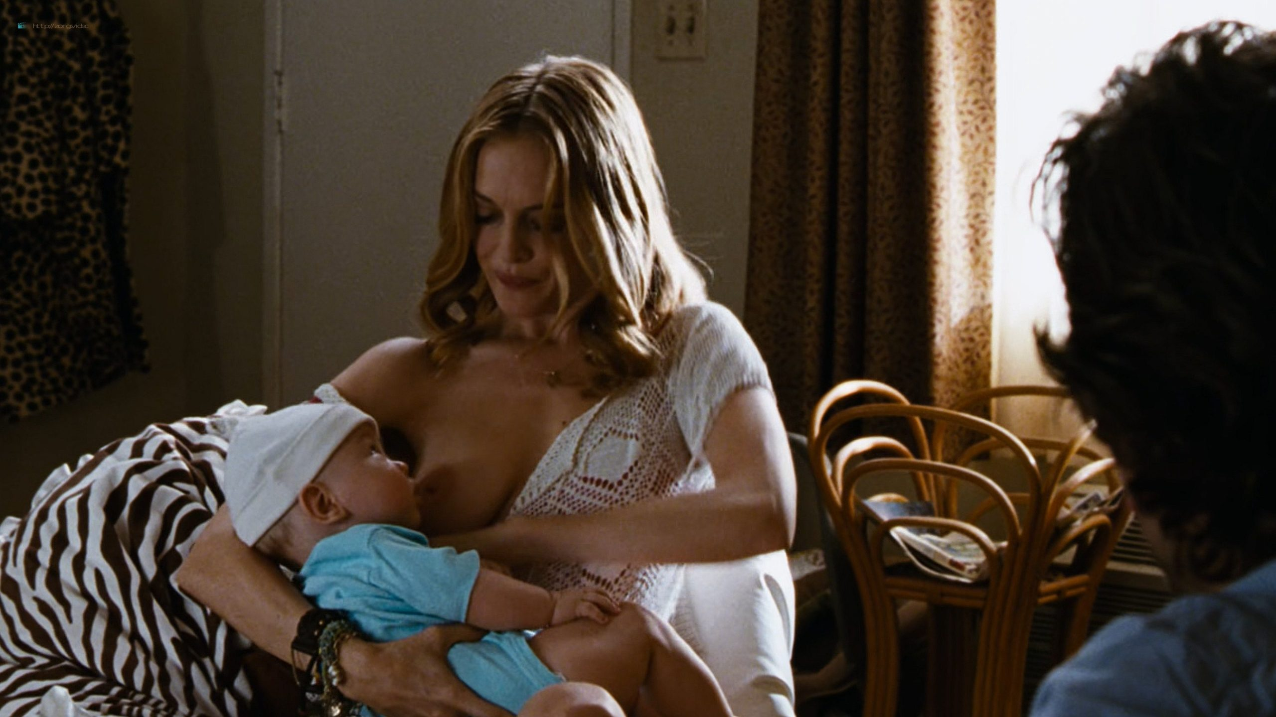 Heather Graham nude topless breastfeeding in - Hangover (2009) UHD 2160p (2)