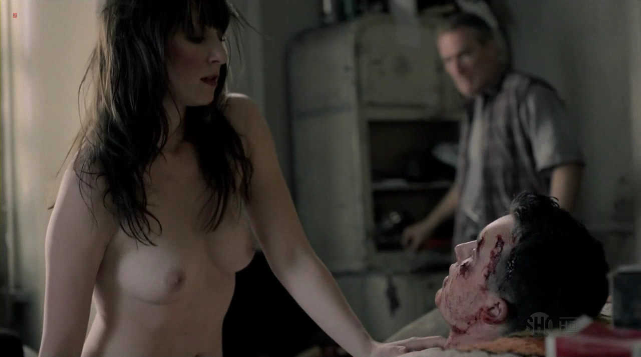 Shanola Hampton And Isidora Goreshter All Nude In Shameless S3e6