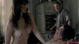 Isidora Goreshter nude newcomer with great ass and boobs - Shameless s3e6 (2013) hd720p
