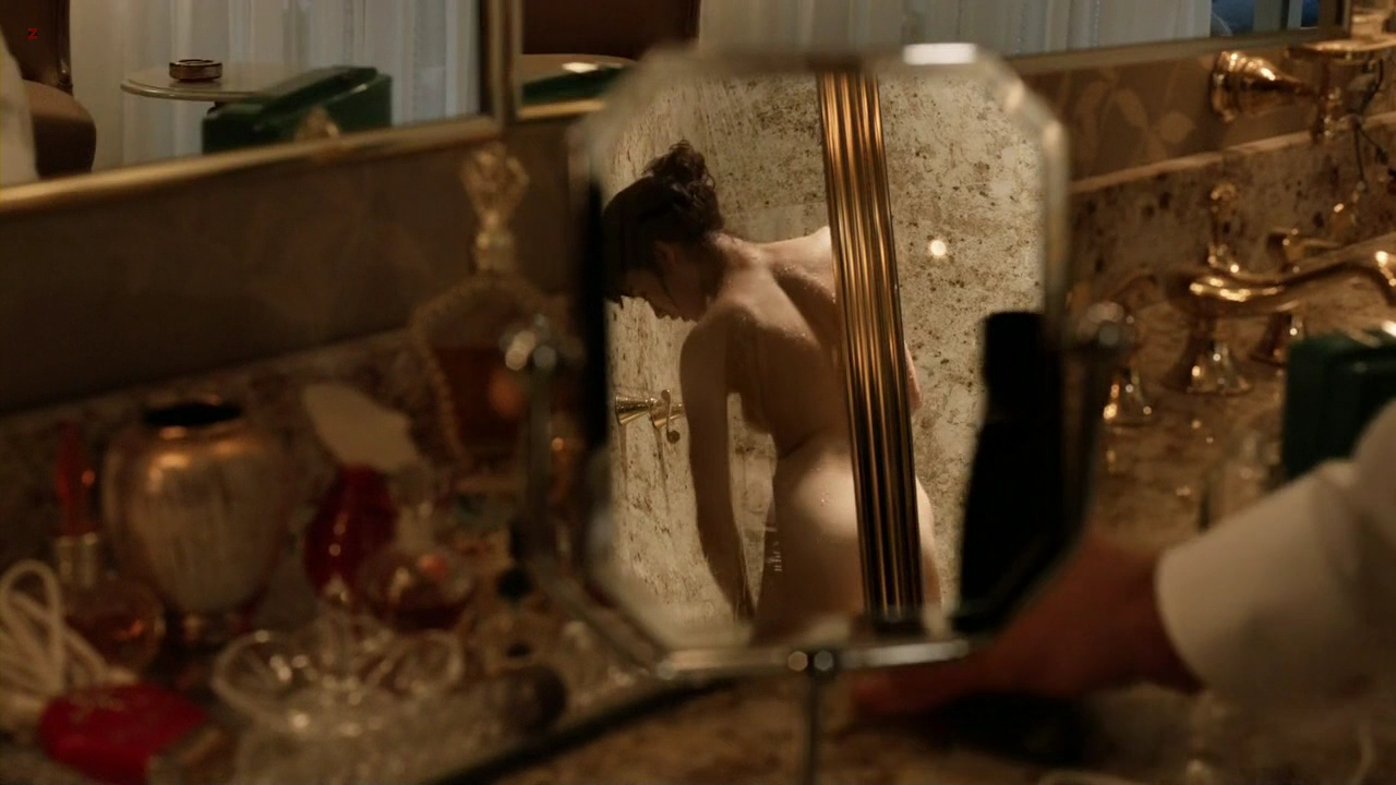 Olga Kurylenko naked in the shower in - Magic City s1e6 hd720p