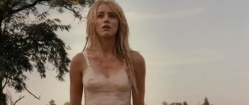 Amber Heard not nude but hot in lingerie from - The Ward (2010)
