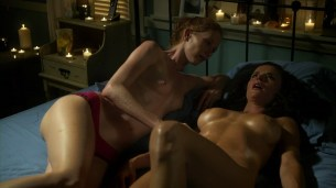 Ana Alexander and Jill Evyn all naked and nude sex in Chemistry s1e9 hd720p (5)