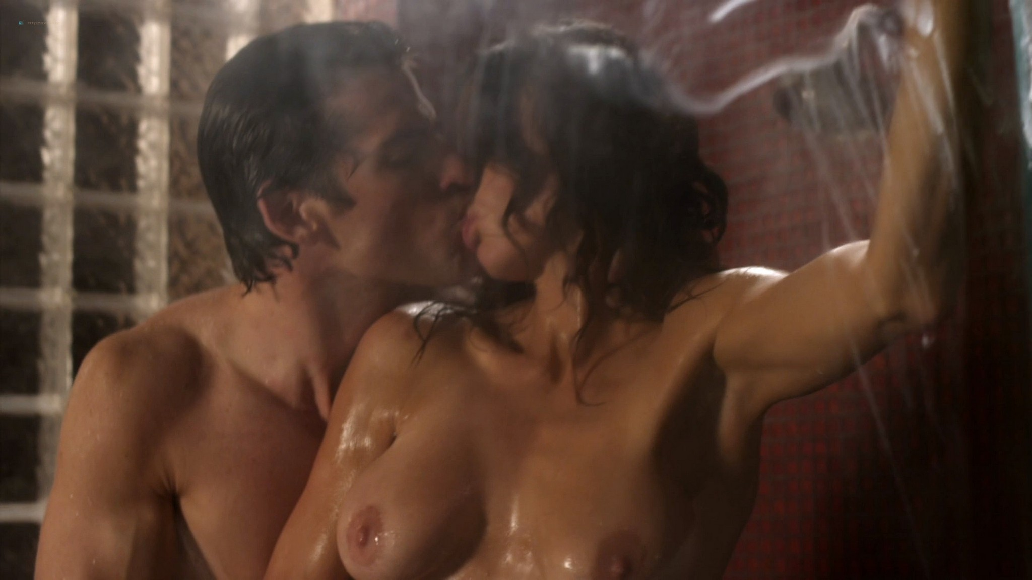 Ana Alexander nude sex in shower and threesome with Jayden Cole - Chemistry (2011) s1e2 HD 1080p (2)