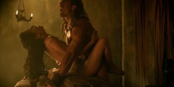 Delaney Tabron nude having sex in Spartacus s2e5 hd720p1