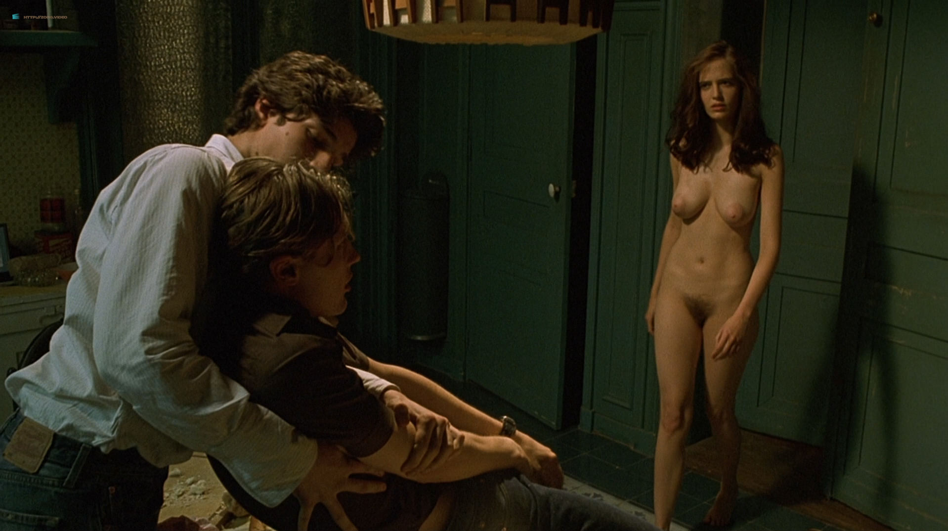 Eva Green nude full frontal explicit and sex threesome in - The Dreamers (2003) hd1080p BluRay (19)