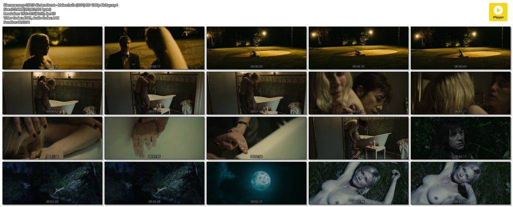 Kirsten Dunst nude topless in Lars von Trier's - Melancholia (2011) HD 1080p BluRay (1)