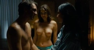 Nikki Moore nude topless from The Babymakers (2012)