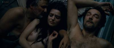 Roxane Mesquida naked and threesome sex from - Sennentuntschi (2010) HD 1080p BluRay (4)
