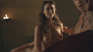 "Ayse Tezel nude lesbian from ""Spartacus"" s3e6 hd720p"