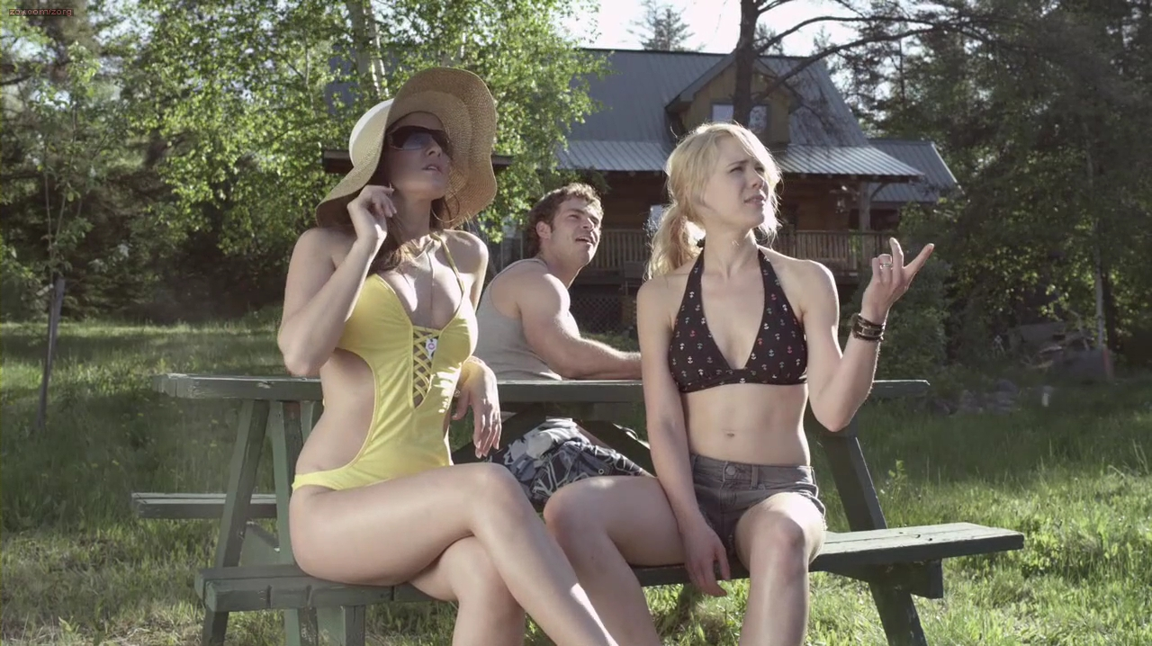"""Kristen Hager and Crystal Lowe hot and sexy from """"A Little Bit Zombie"""" (2012) hd720p"""