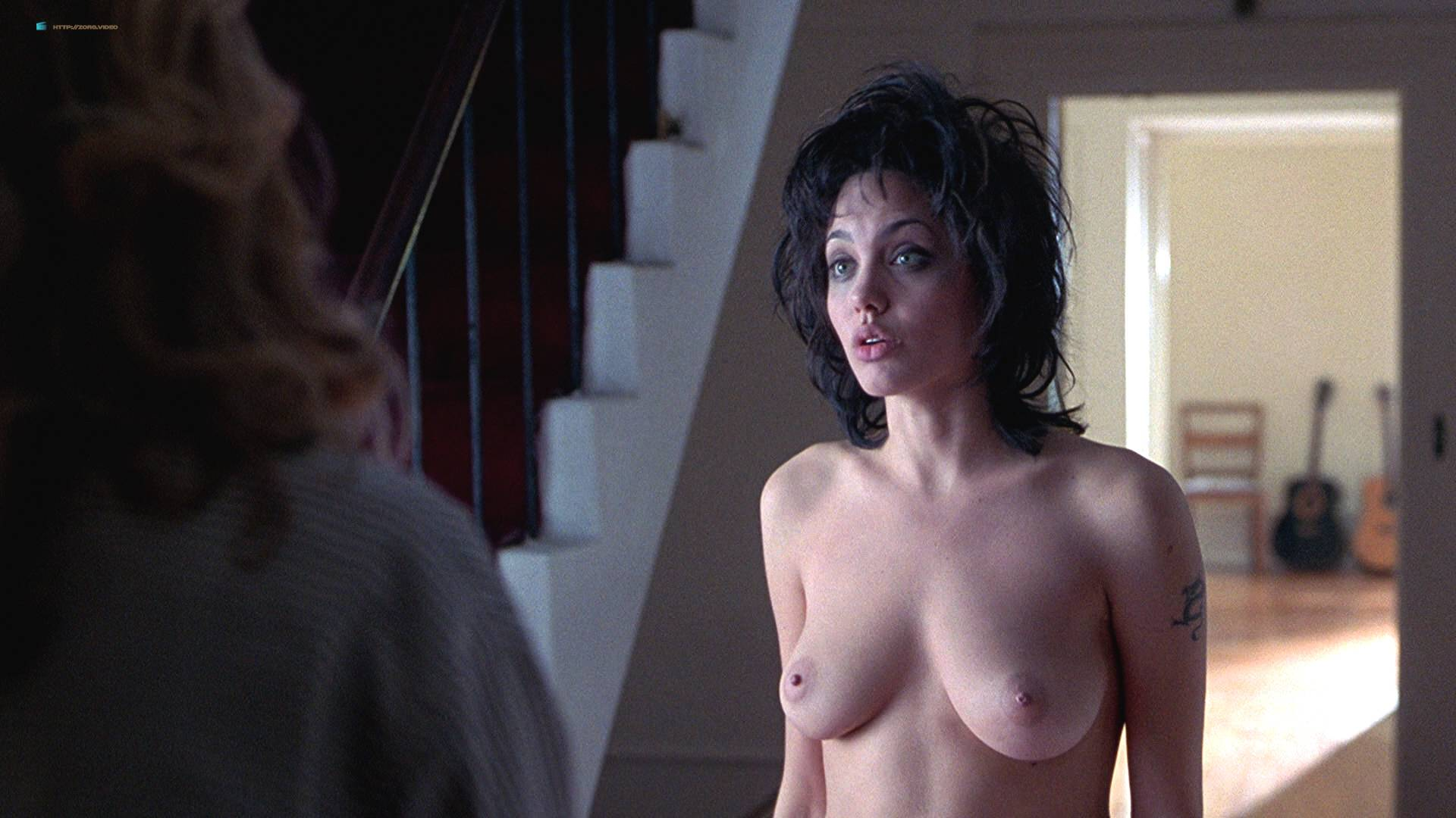 Gia Angelina Jolie Lesbian Video