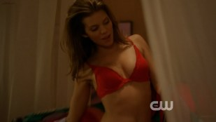 AnnaLynne McCord sexy in red lingerie - 90210 s5e20 hd720p