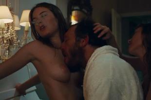 Camille Rowe nude and Josephine de La Baume nude sex threesome – Notre jour viendra (2010) hd720p