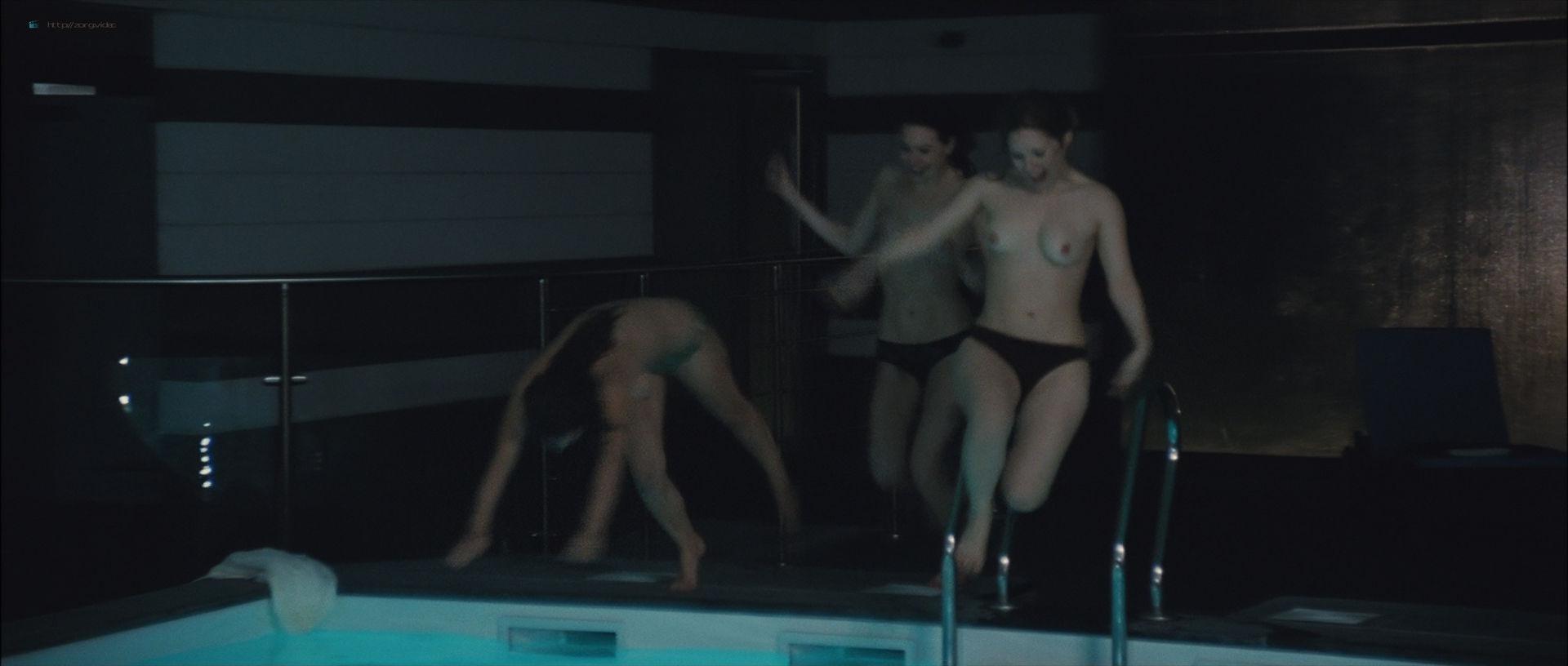 Camille Rowe nude and Josephine de La Baume nude sex threesome - Notre jour viendra (FR-2010) HD 1080p BluRay (17)