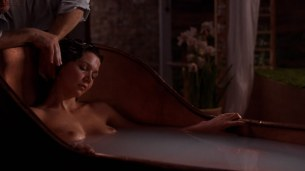 Maggie Gyllenhaalall naked full frontal nude bush - Secretary (2002) hd1080p