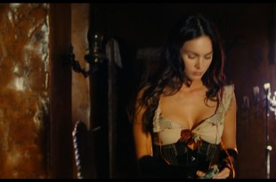 Megan Fox hot sexy huge cleavage - Jonah Hex HD 1080p BluRay (12)