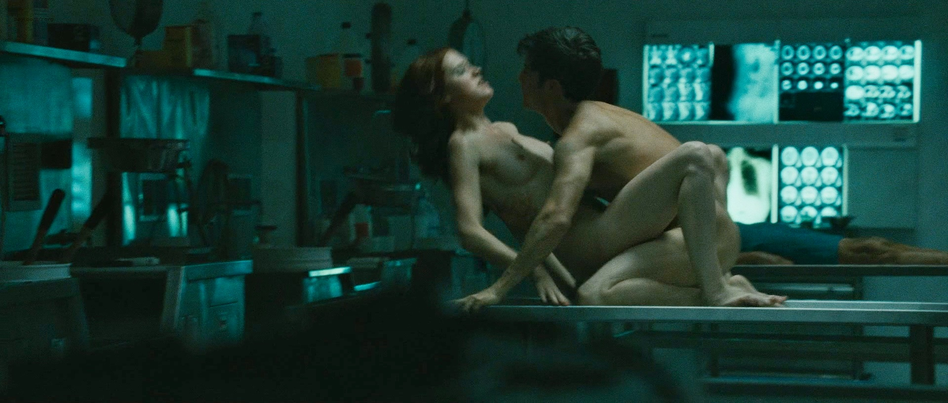 Alyssa Milano nude and bush and Lauren Lee Smith nude topless and sex - Pathology (2008) hd720/1080p (10)