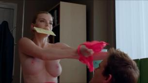 Betty Gilpin nude topless huge boobs - Nurse Jackie (2013) s05e06 hd720p w/ slow motion