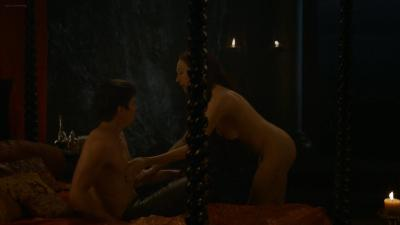 Carice van Houten nude topless butt and hot sex - Game of Thrones s3e8 hd1080p (7)
