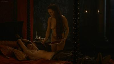 Carice van Houten nude topless butt and hot sex - Game of Thrones s3e8 hd1080p (3)