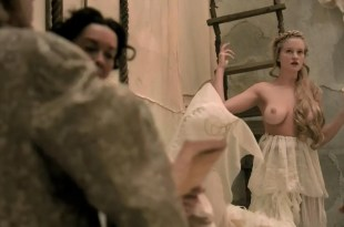 Laura Haddock and busty blond nude topless – Da Vinci's Demons (2013) s1e5 hd720p