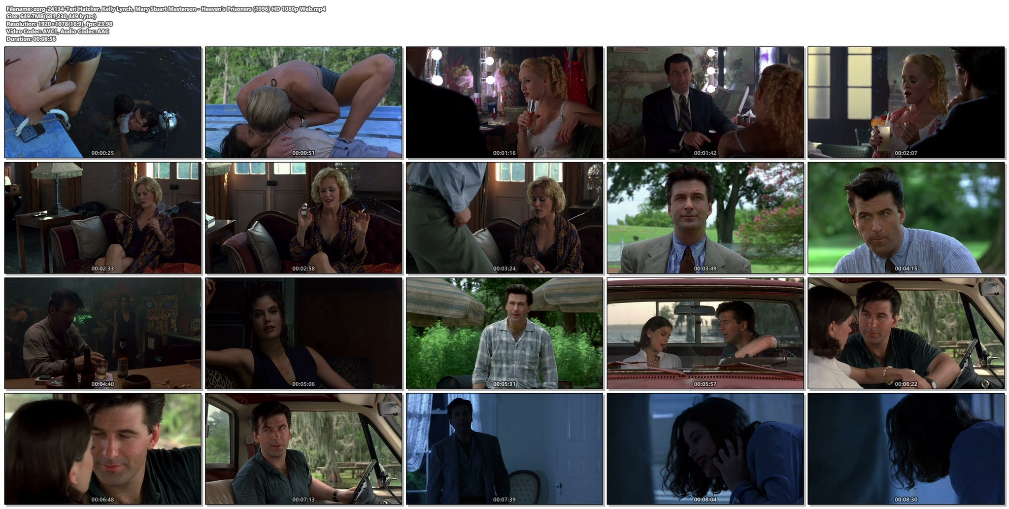Teri Hatcher nude full frontal bush butt and topless - Haven's Prisoners (1996) HD 1080p Web (1)