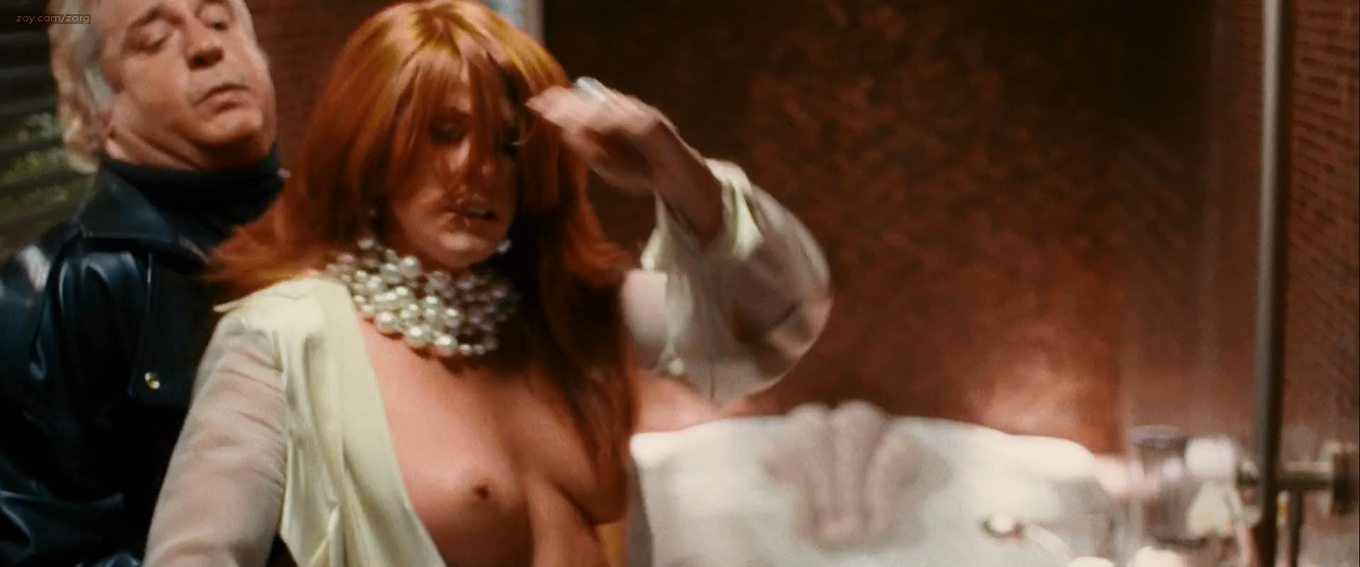 angie everhart naked topless sex oral - take me home tonight (2011