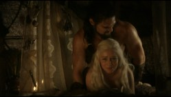 Emilia Clarke nude topless and hot sex doggy style from - Game of Thrones s01e02 hdtv1080p