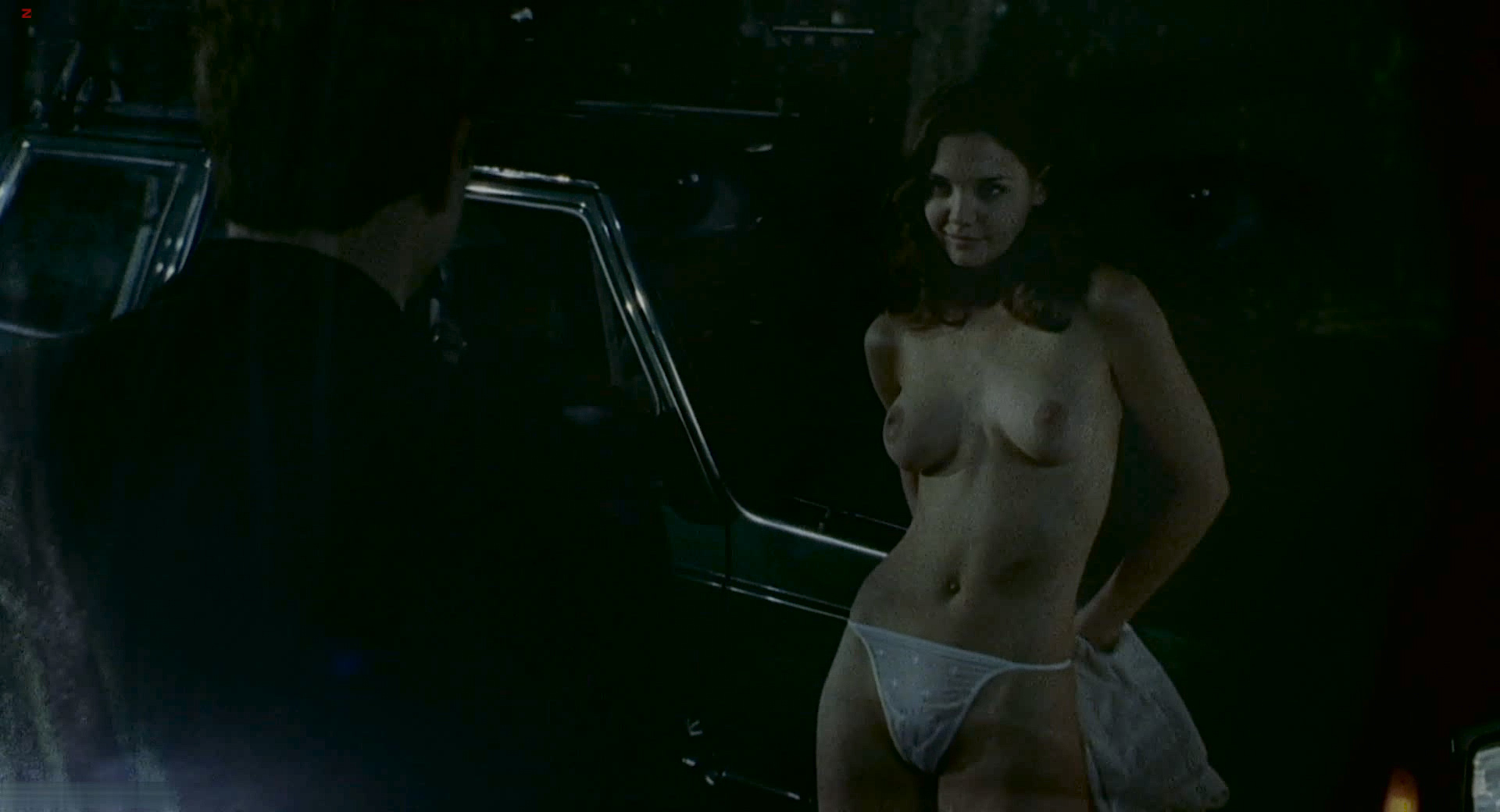 Katie holmes topless the gift