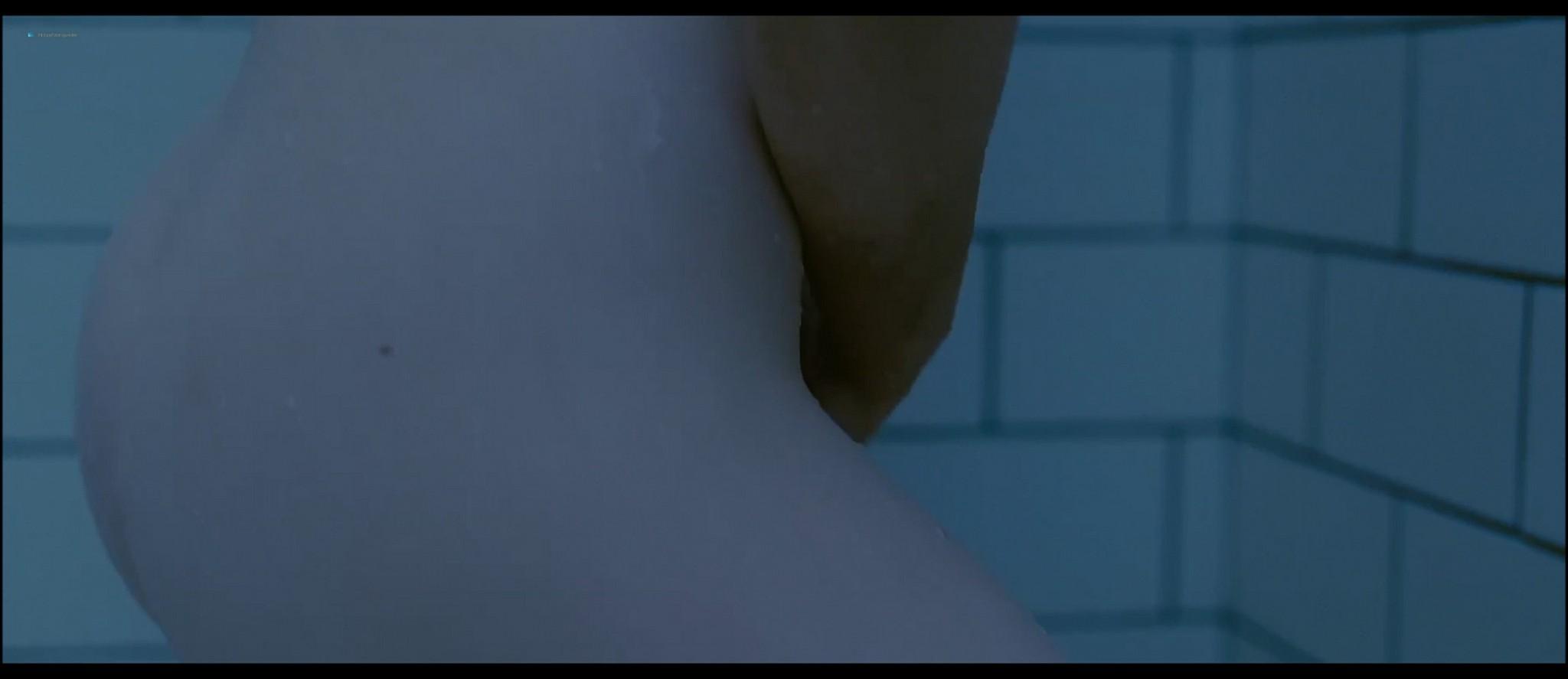 Mia Wasikowska nude nipple peak and butt while masturbating nude in the shower - Stoker (2013) HD 1080p BluRay (4)
