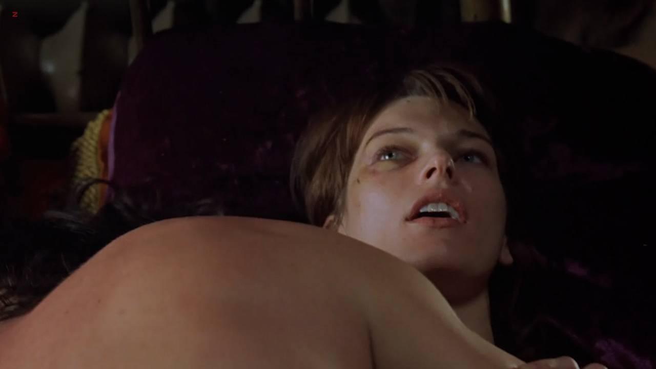 Milla Jovovich nude sex lesbian - .45 (2006) hd720p (9)