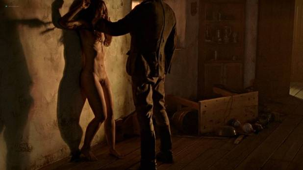 Sylvianne Chebance nude full frontal and nude topless - True Blood (2010) s3e2 HD 1080p (2)