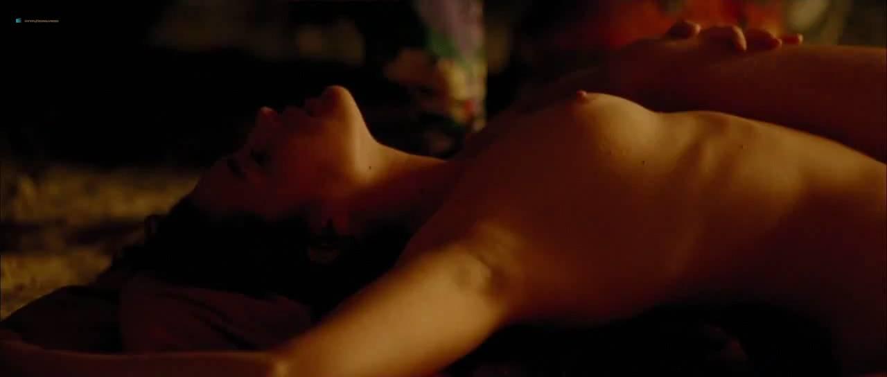 Vahina Giocante nude bush, boobs while skinny dipping - Paradise Cruise (FR-2013) HDTV 720p (14)