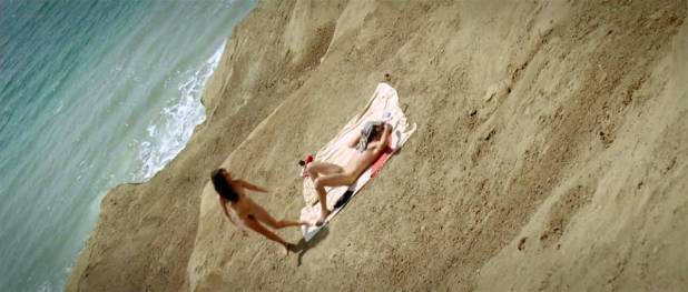 Vahina Giocante nude bush, boobs while skinny dipping - Paradise Cruise (FR-2013) HDTV 720p (8)