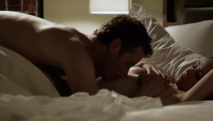 Danielle Harris sex nude but covered - Fatal Call (2012)