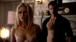 Jessica Clark nude topless merkin and Anna Paquin not nude sexy in lingerie - True Blood (2013) s6e5 HD 1080p (4)