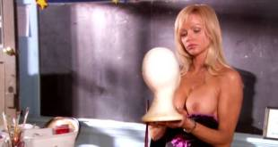 Nikki Schieler Ziering nude topless and butt in thong Jillian Murray hot - American High School (2009) (11)