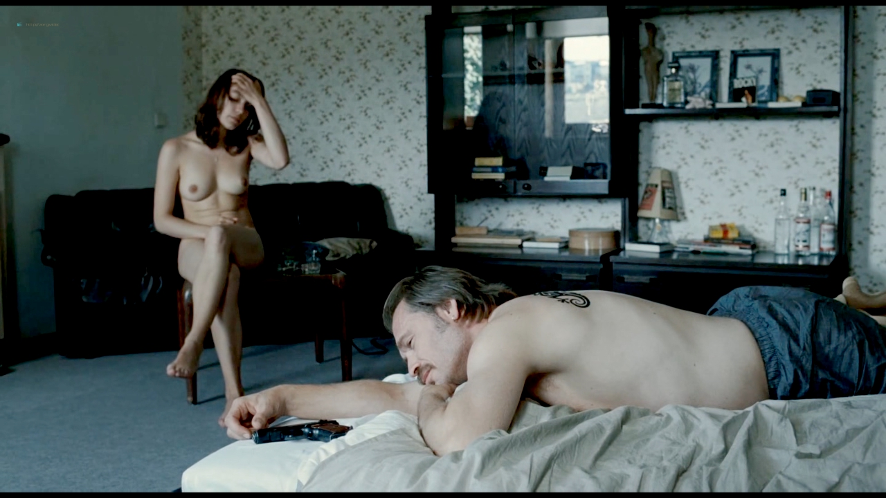 Irina Potapenko naked and sex in the shower and Ursula Strauss naked topless - Revanche (2008) hd720p (3)
