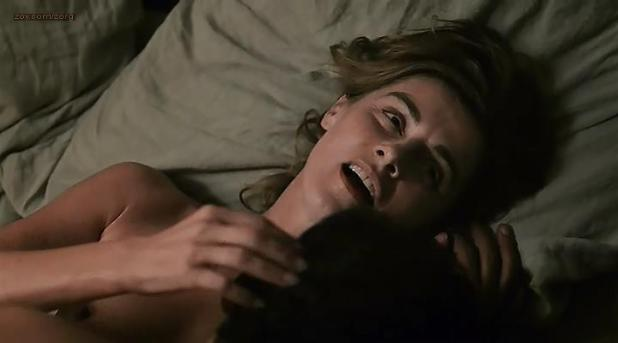 Anne Consigny nude topless- E-Love (2011)