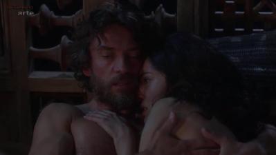 Caterina Murino nude topless and sex - Odysseus s01e6