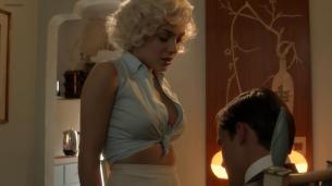 Elena Satine nude butt sex side booband hot cleavage - Magic City (2013) s2e7 hd720p