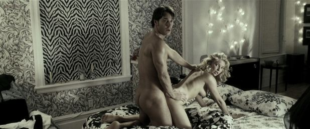 Jennifer Miller nude sex doggy style Lucky Number Slevin (2006) HD 1080p (2)