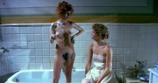 Stefania Casini nude full frontal bush and sex and Dominique Darel nude topless and sex - Andy Warhol's Dracula (1974)