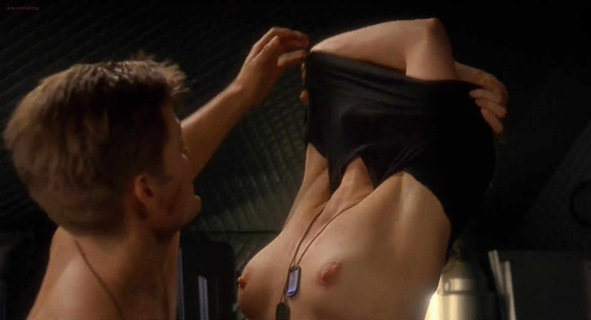 girl starship troopers naked